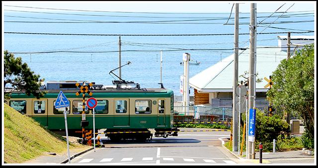 絶景の江ノ電で行く七里ヶ浜駅周辺の観光スポット巡り