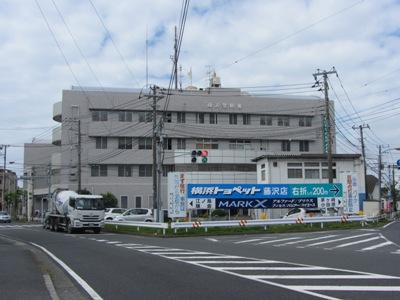 藤沢警察署前