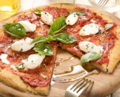 ピザの写真