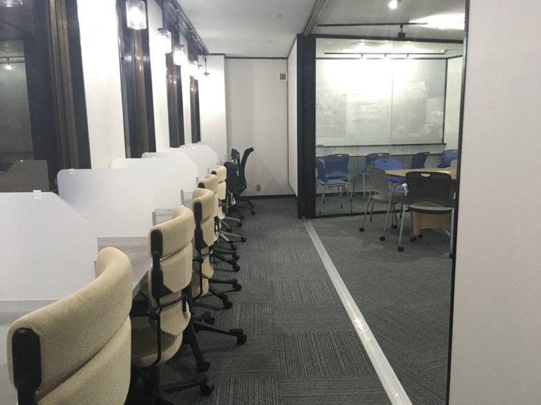 席の配置と会議室