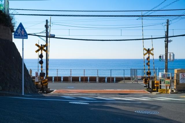 鎌倉高校前の画像