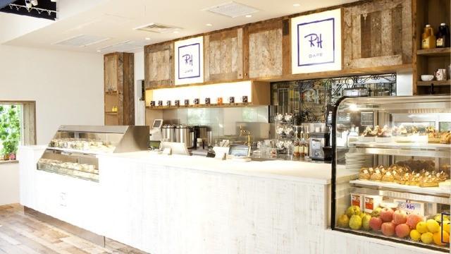 ロンハーマンカフェの内装