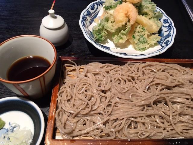 松原庵の料理