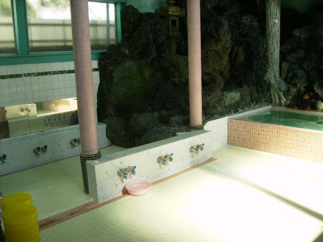不動湯の浴場の画像
