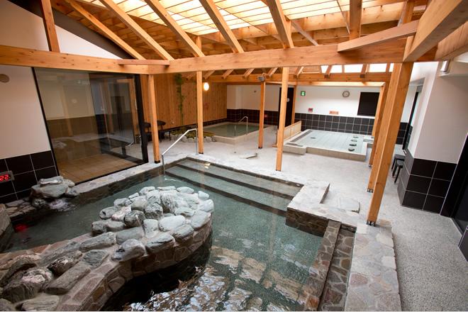 湘南台温泉らくの浴場画像