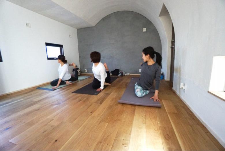 ヨガスタジオルポゼの茅ヶ崎サロンの画像