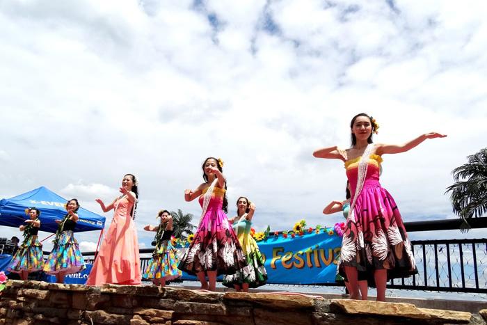 ハワイ一色!ENOSPAハワイアンフェスティバルが5/19,20(土日)に開催