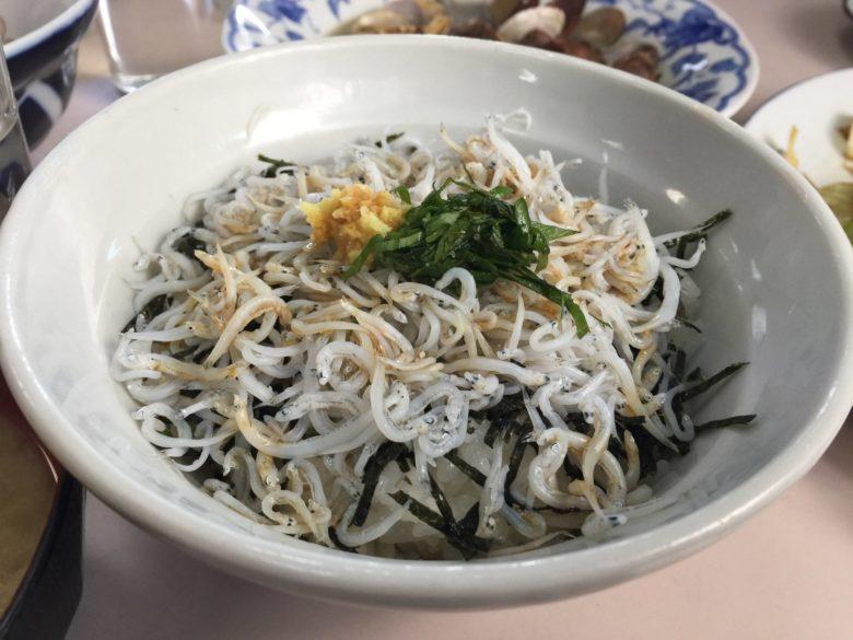 文佐食堂の料理