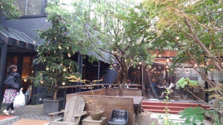 ガーデンハウスの外観