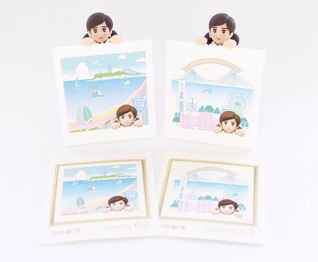 「ご当地フチ子」が郵便局に初登場!「郵便局のフチ子 湘南」が数量限定で発売