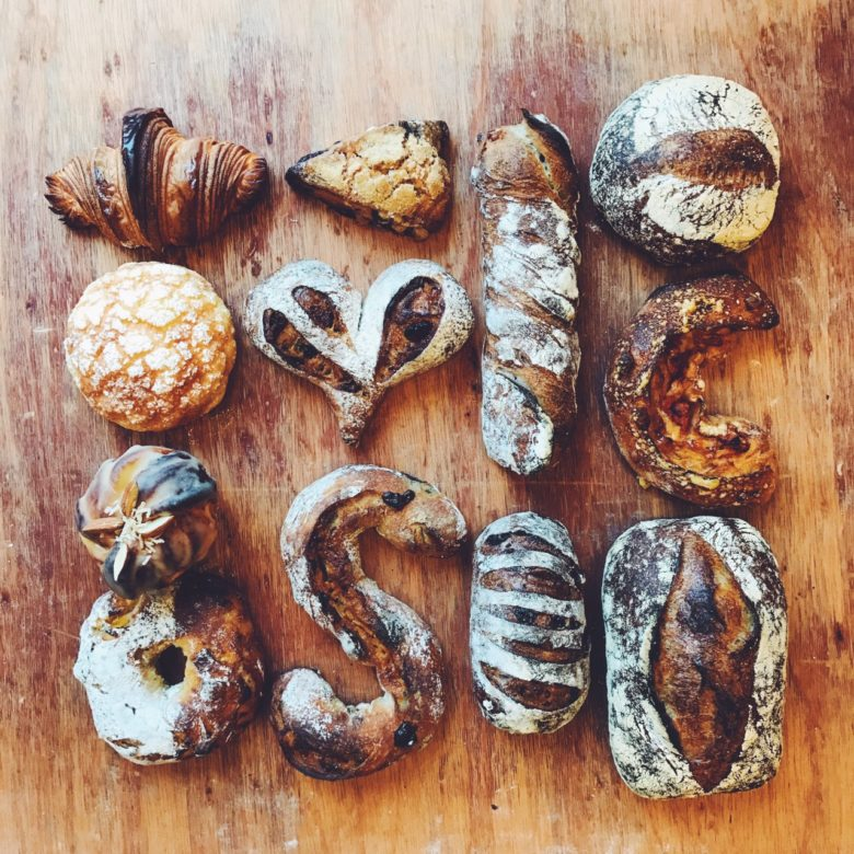 ちょっと幸せになれるパン