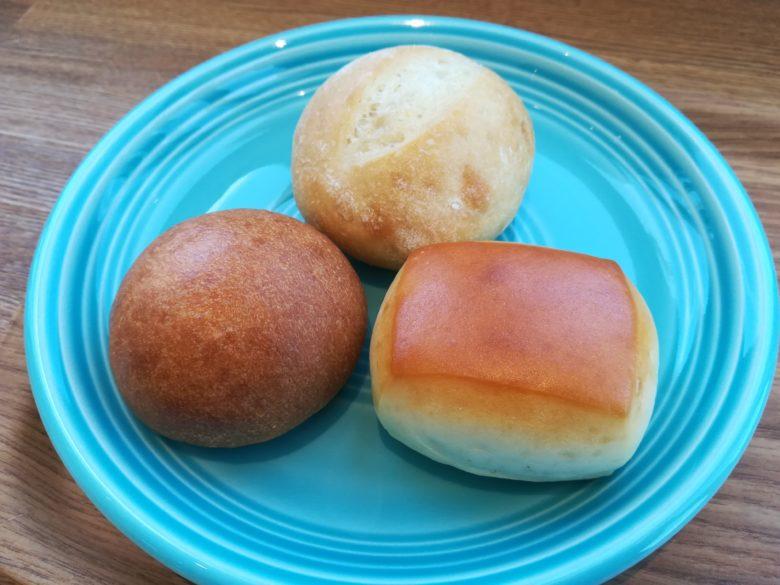 3つのパン