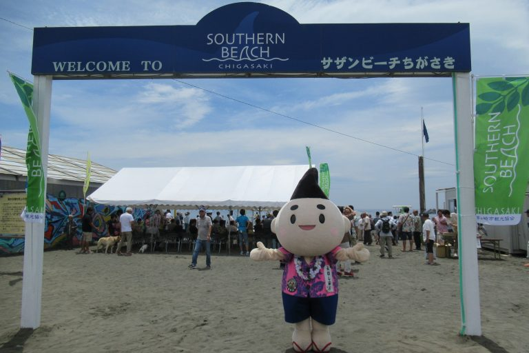 7月6日(土)にサザンビーチちがさき海水浴場が海開き