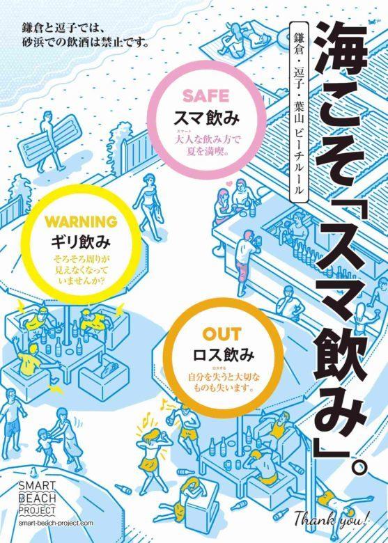 """鎌倉,逗子,葉山による""""SMART BEACH PROJECT 2019″がスタート"""