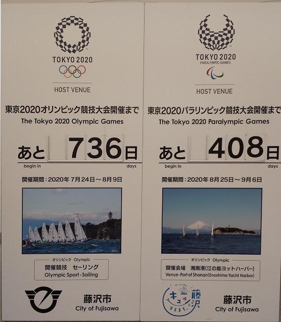 オリンピック立看画像