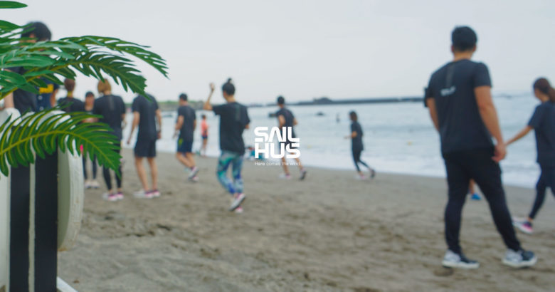 adidasとSAILHUSによるランニングイベントが葉山で開催8/18