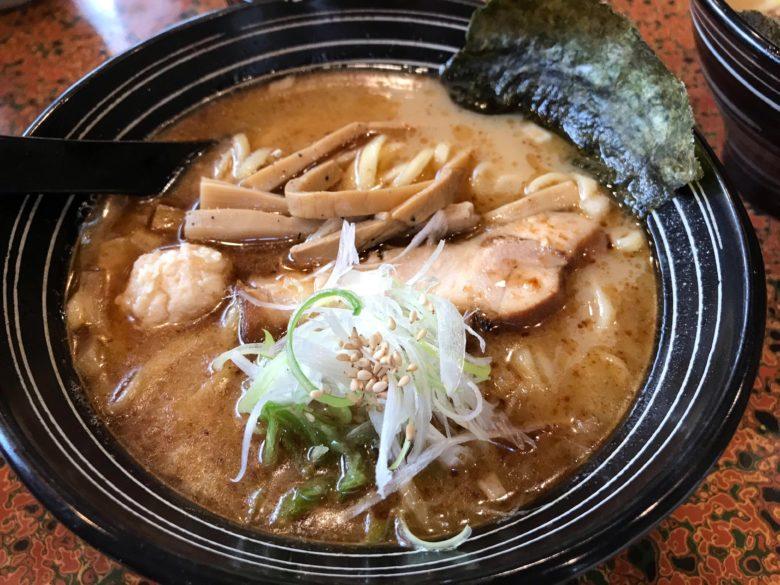 鮮魚かつお出汁麺