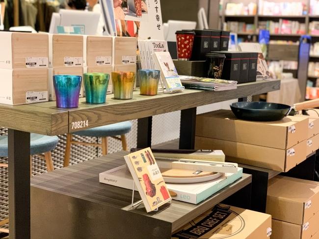 ラフリンクルズの雑貨たちが湘南T-SITEにて販売開始